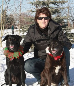 HEATHER HUDSON PICWinter with Dogs
